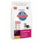 HILLS (Хиллс) 6060 Sensitive Skin сухой корм для собак c чувствительной кожей 12кг (Нидерланды)