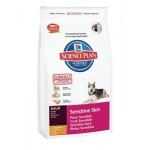 HILLS (Хиллс) 5282 Sensitive Skin сухой корм для собак c чувствительной кожей 1кг (Нидерланды)