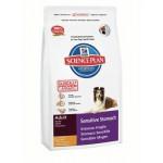 HILLS (Хиллс) 5281 Sensitive Stomach сухой корм для собак c чувствительным желудком 1кг (Нидерланды)