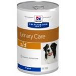 HILLS (Хиллс) Диета консервы для собак S/D лечение МКБ струвиты 370г 6шт