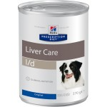 HILLS (Хиллс) Диета консервы для собак L/D лечение заболеваний печени 370г  6шт