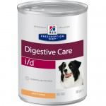 HILLS (Хиллс) Диета консервы для собак I/D лечение заболеваний ЖКТ 360г (США) 6шт