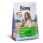 6930 KARMY Sterilized д/стерилизованных кошек и кастрированных котов Индейка - 400гр