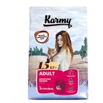 7026 KARMY ADULT   д/кошек Телятина - 1,5кг