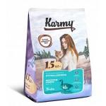 7030 KARMY Hypoallergenic д/кошек, склонных к пищевой аллергии Утка - 1,5кг