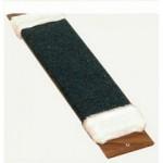 'А-002 СИМОН Когтеточка ковровая с пропиткой большая с мехом 60х15см