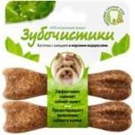 Зубочистики 73303761 Косточка для собак до 10кг с кальцием и морскими водорослями 2шт