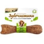 Зубочистики 73303808 Косточка для собак 10-25кг с кальцием со вкусом Говядины