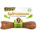 Зубочистики 73303815 Косточка для собак 10-25кг с кальцием со вкусом Курицы