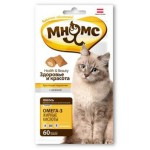 """700026 Лак-во """"Мнямс"""" Хрустящие подушечки для кошек с лососем 60г"""
