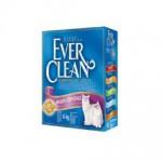 EVER CLEAN Multi Crystal Blend Наполнитель для кошек с добавлением кристаллов 6кг (сиреневая полоса)