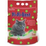 """Наполнитель Pi-Pi-Bent """"Сенсация свежести"""" комкующийся для кошек (п/э пакет) 5кг"""