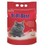 """Наполнитель Pi-Pi-Bent """"Классик"""" комкующийся для кошек (п/э пакет) 5кг"""