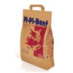 """Наполнитель Pi-Pi-Bent """"Классик"""" комкующийся для кошек (бумажный пакет) 10кг"""