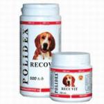 POLIDEX Рековит усиленный комплекс минералов, витаминов д/собак 150 таб.*8