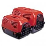 10101 MPS Sirio Little Переноска для животных 50х33,5х31h см, красная