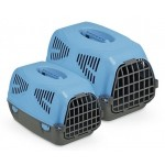10103 MPS Sirio Little Переноска для животных 50х33,5х31h см, голубая