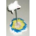 SH10 ТРИОЛ Игрушка для кошек Мышь на подставке 25см