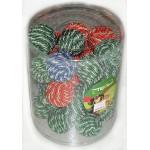 668NT ТРИОЛ Набор для кошек Мяч разноцветный сизалевый ф6,5см*30шт(туба)