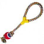 5608027 DEZZIE Игрушка для собак, 50см, 200-210г, хлопок, пластик, резина
