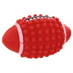 """0221 ZIVER Игрушка """"Мяч """"регби"""" Размер: 10,5 см., Цвет: красный 40.ZV.025"""