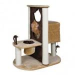 """TRIXIE Домик для кошки """"Amelia"""", 51х93х80см, плюш, коричневый/бежевый"""